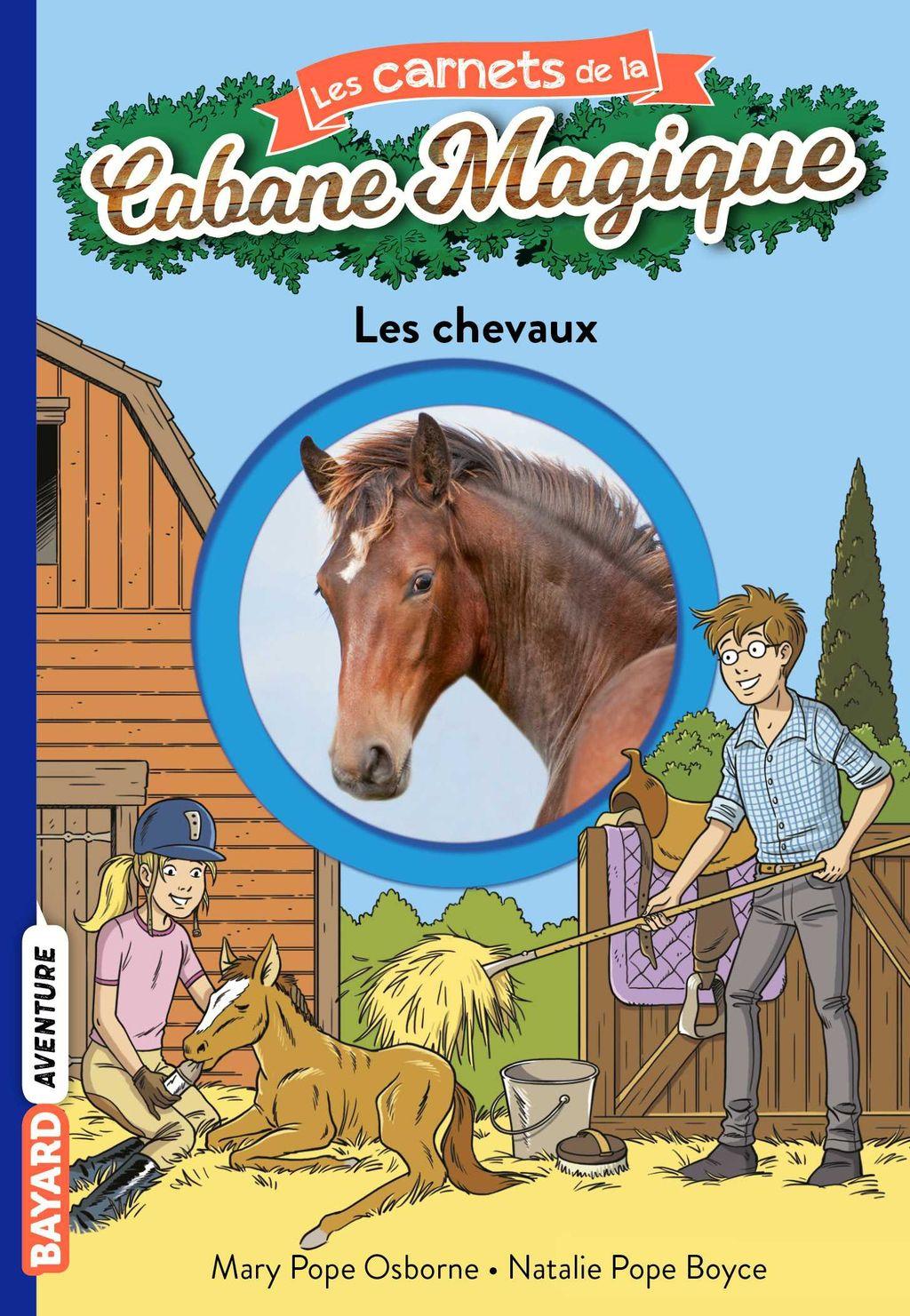Couverture de «Les chevaux»