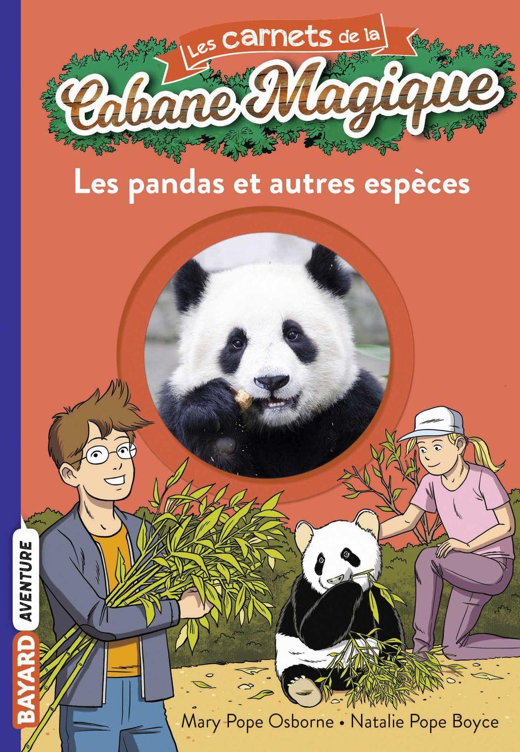 Couverture de «Les pandas»