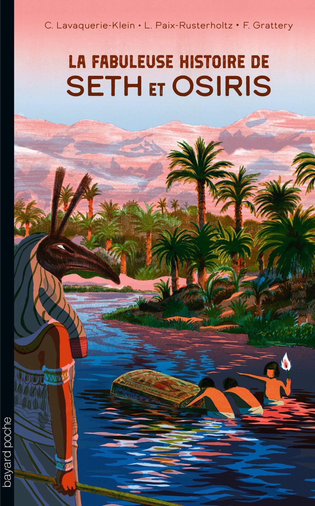 «La fabuleuse histoire de Seth et Osiris» cover