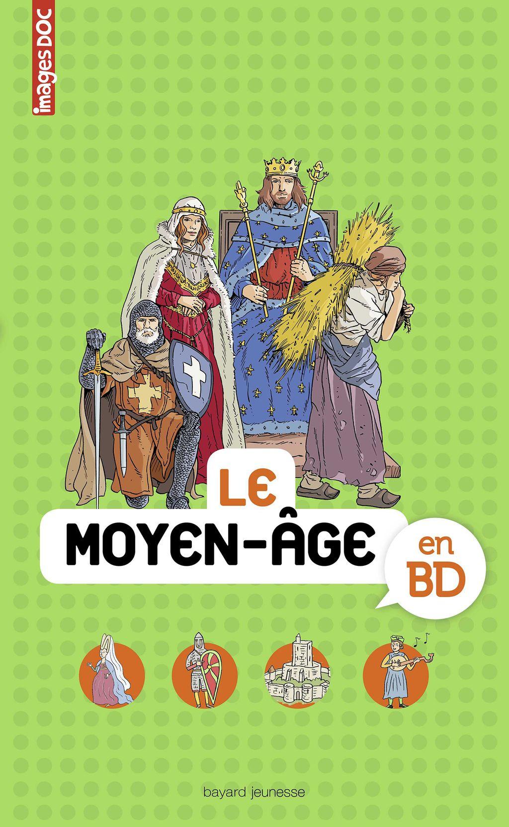 «Au temps des chevaliers en BD» cover