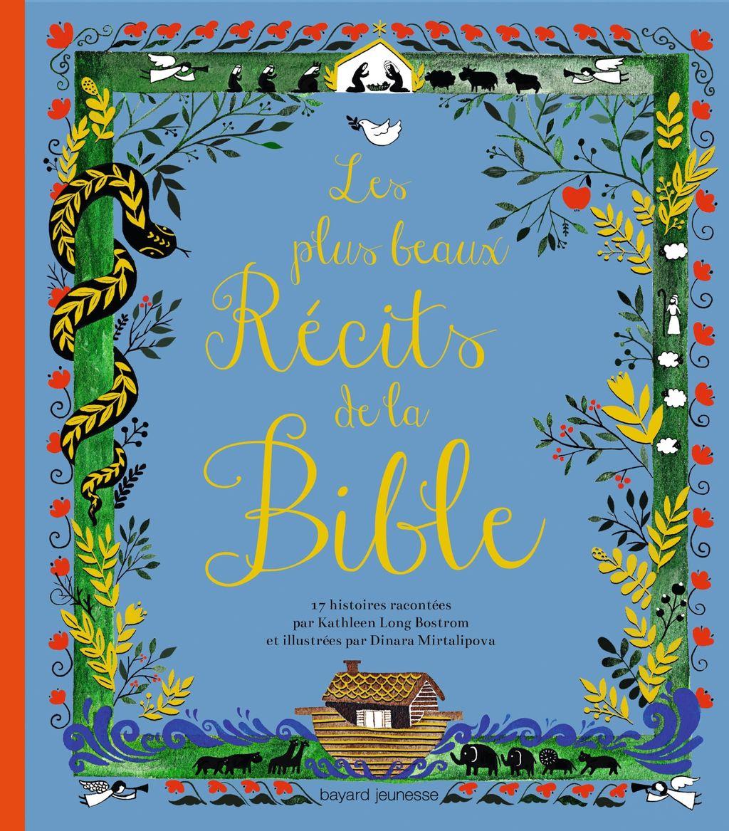 Couverture de «Les plus beaux récits de la Bible»