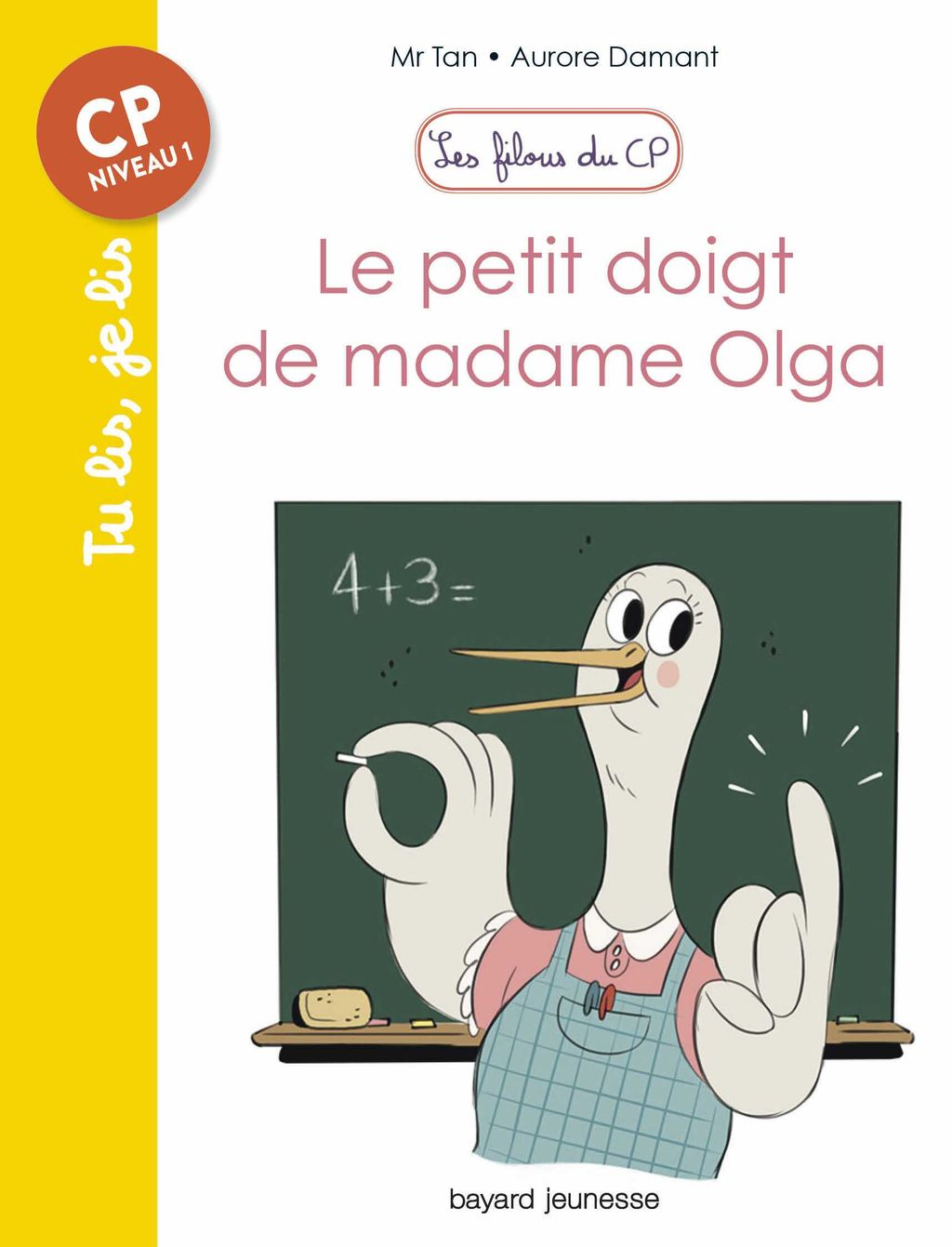 «Le petit doigt de madame Olga» cover