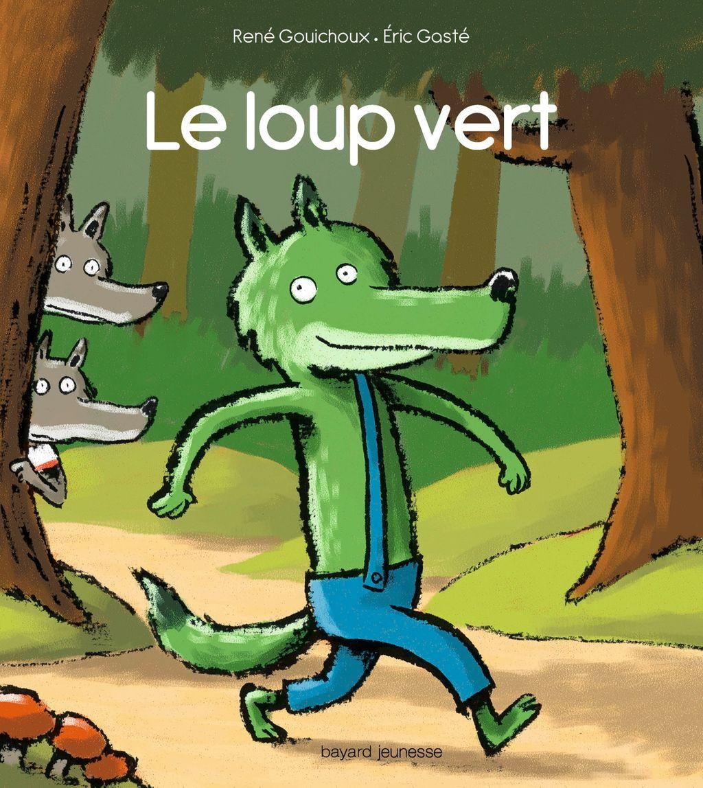 «Le loup vert» cover