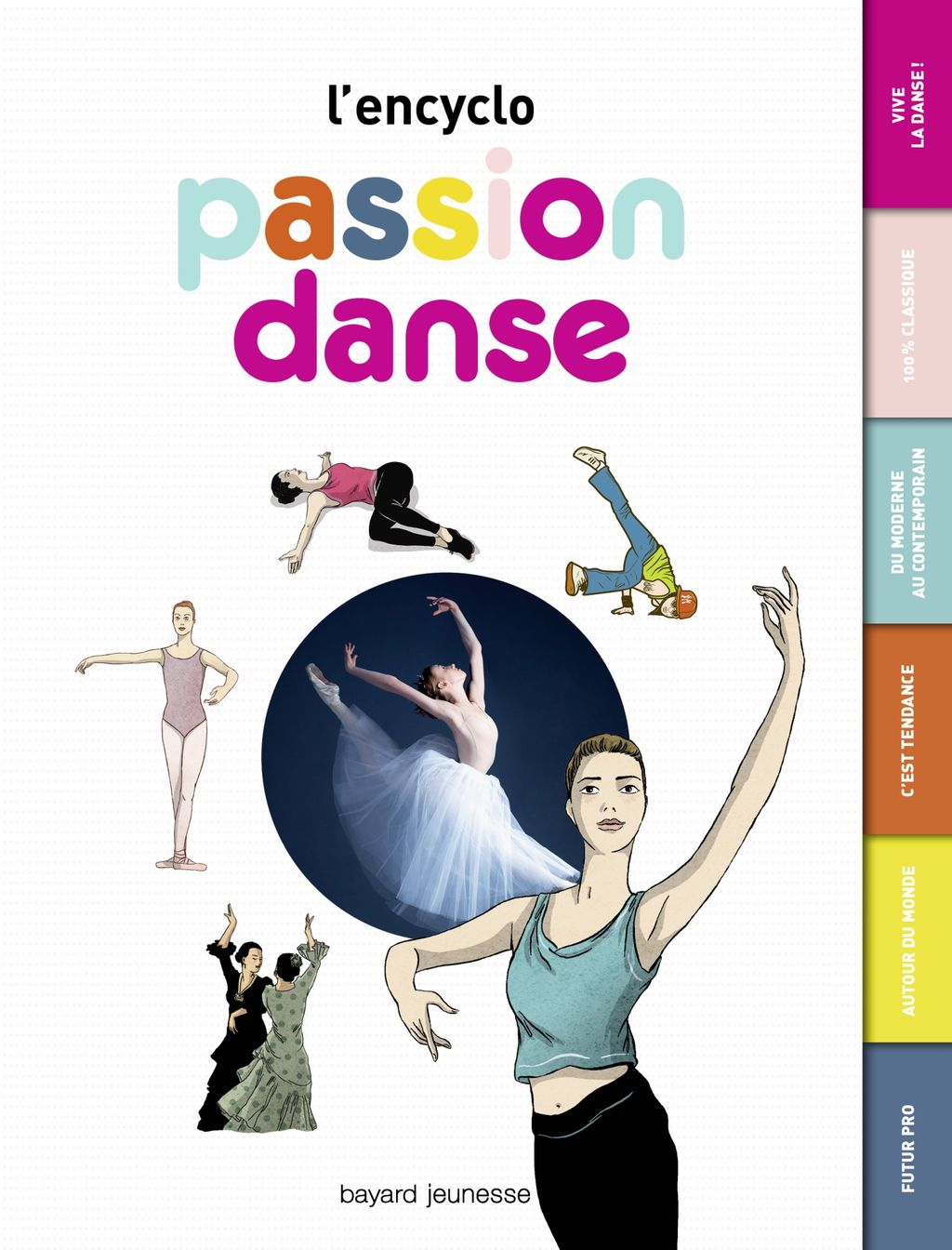 Couverture de « Passion danse – L'encyclo »