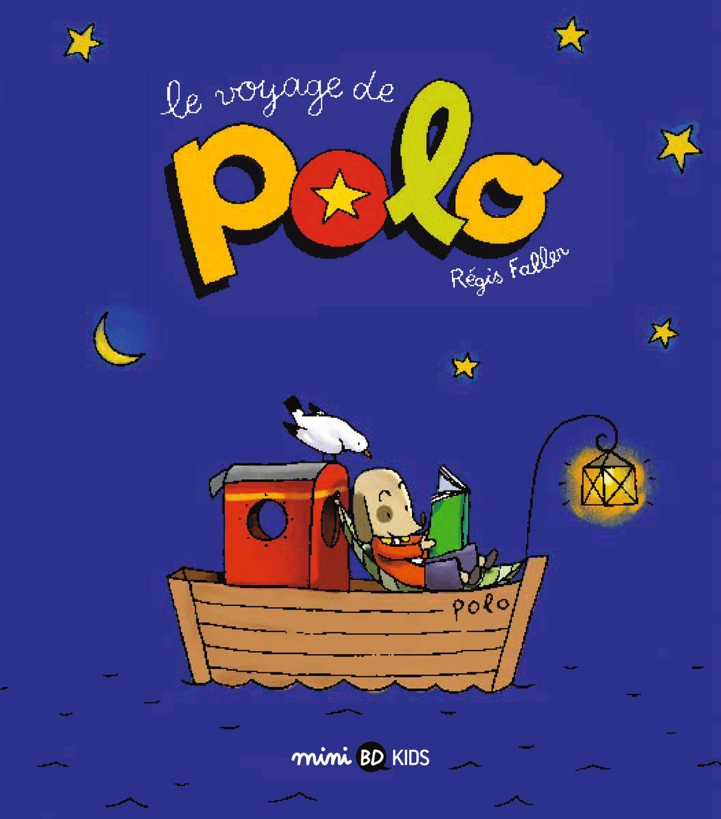 «Le voyage de Polo» cover
