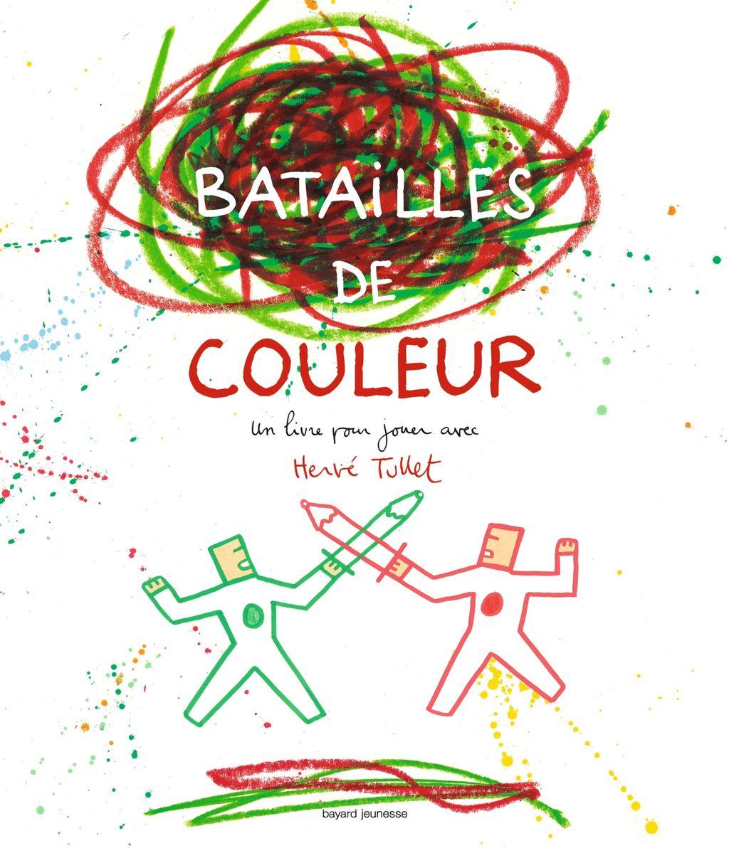 «Batailles de couleurs» cover