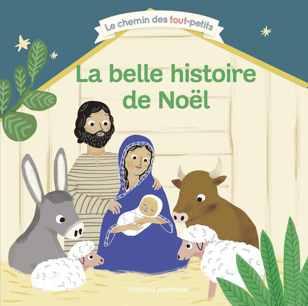Couverture de «La belle histoire de Noël»
