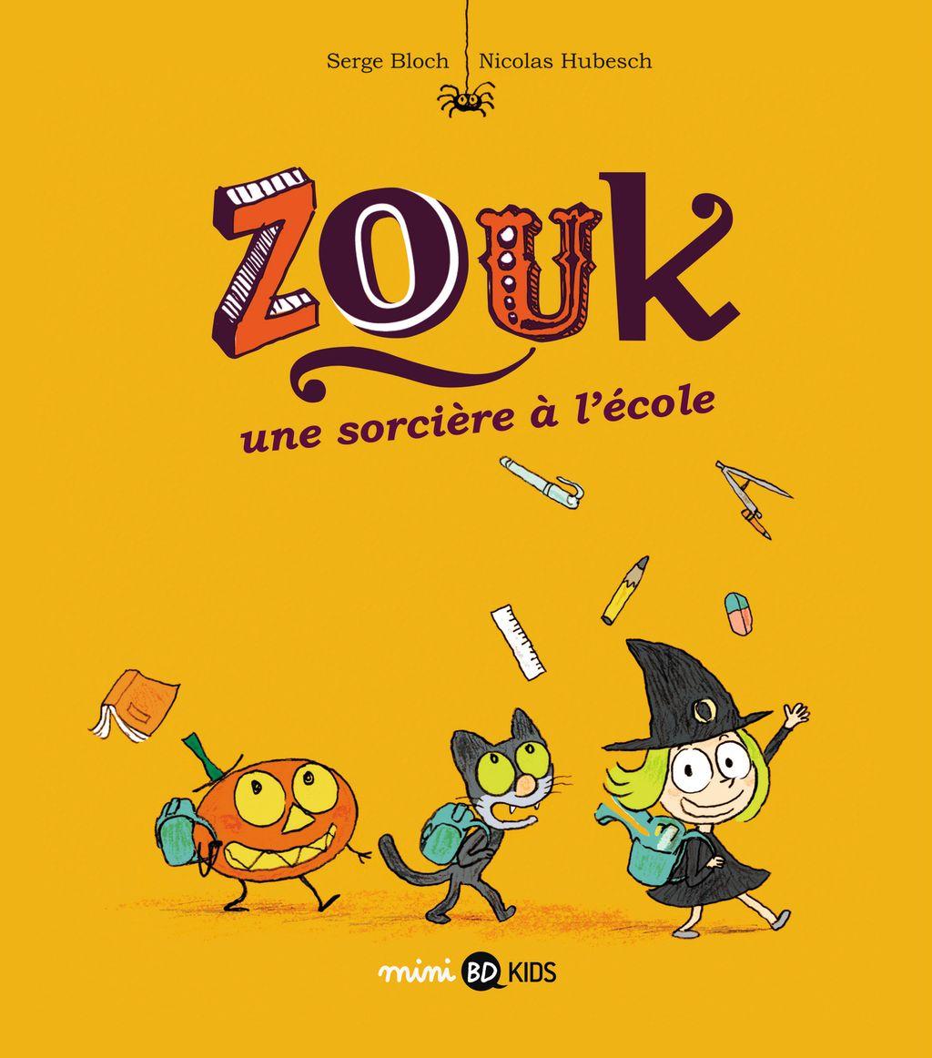 «Une sorcière à l'école» cover