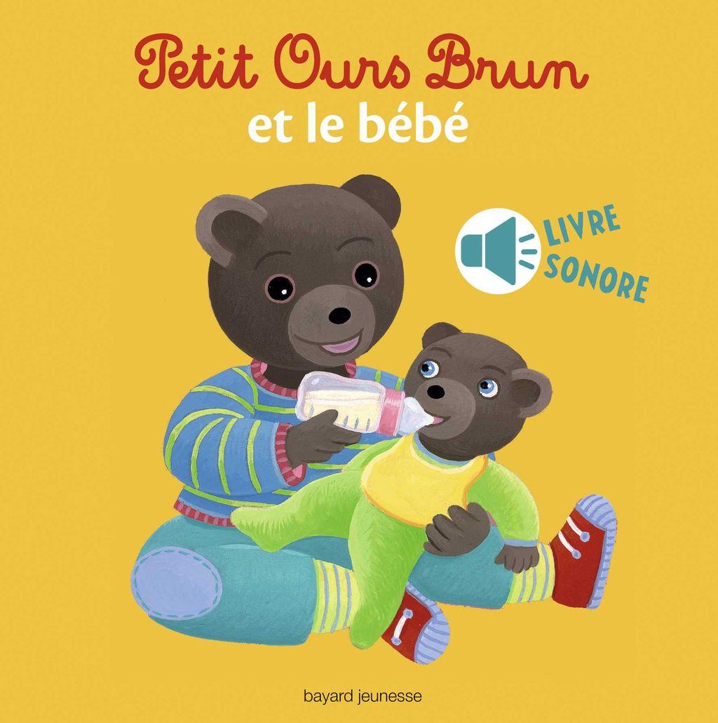 Couverture de «Petit Ours Brun et le bébé – livre sonore»