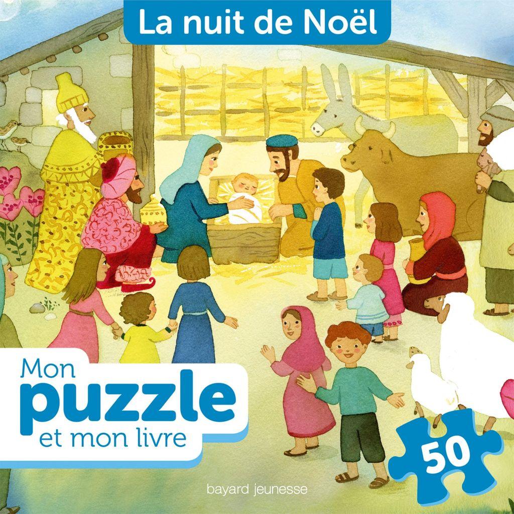 Couverture de «Noël, ton puzzle et ton livre»
