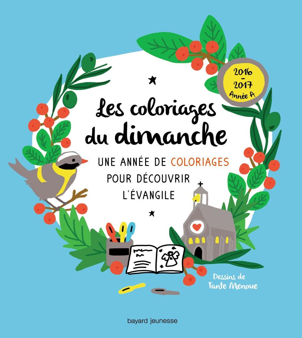 «Les coloriages du dimanche (année A)» cover