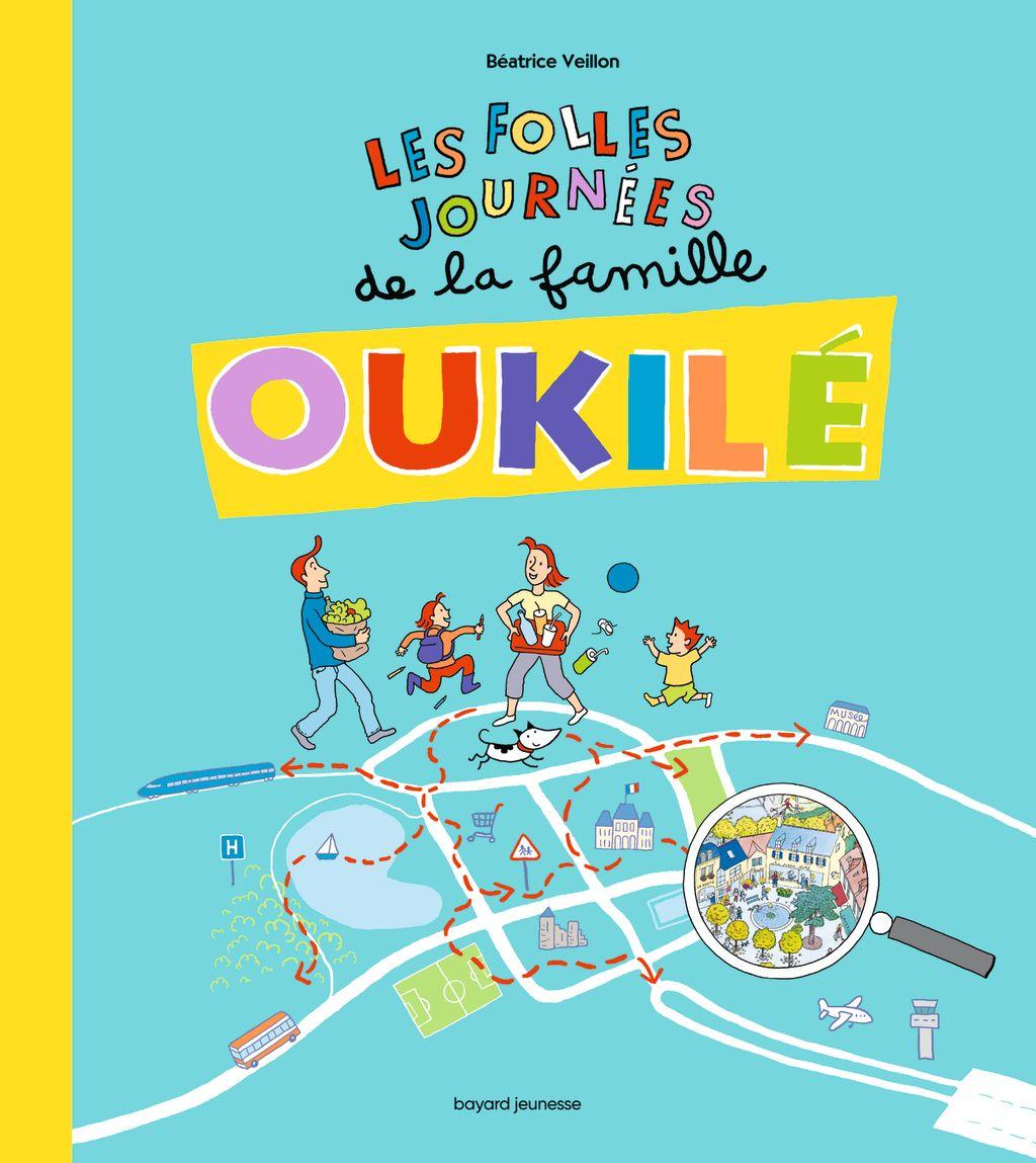 «Les folles journées de la Famille Oukilé» cover