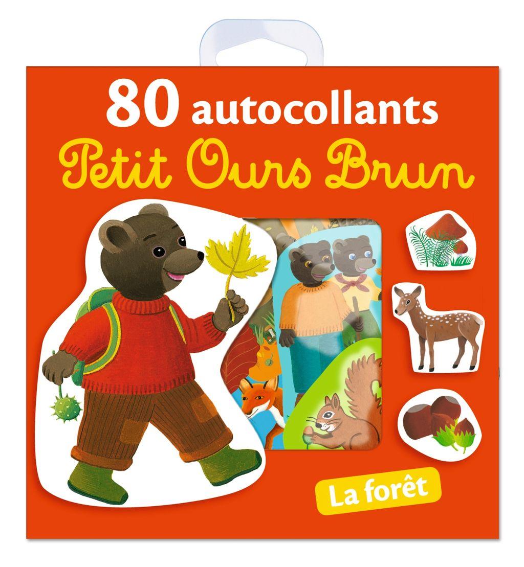 «La forêt – 80 autocollants Petit Ours Brun» cover