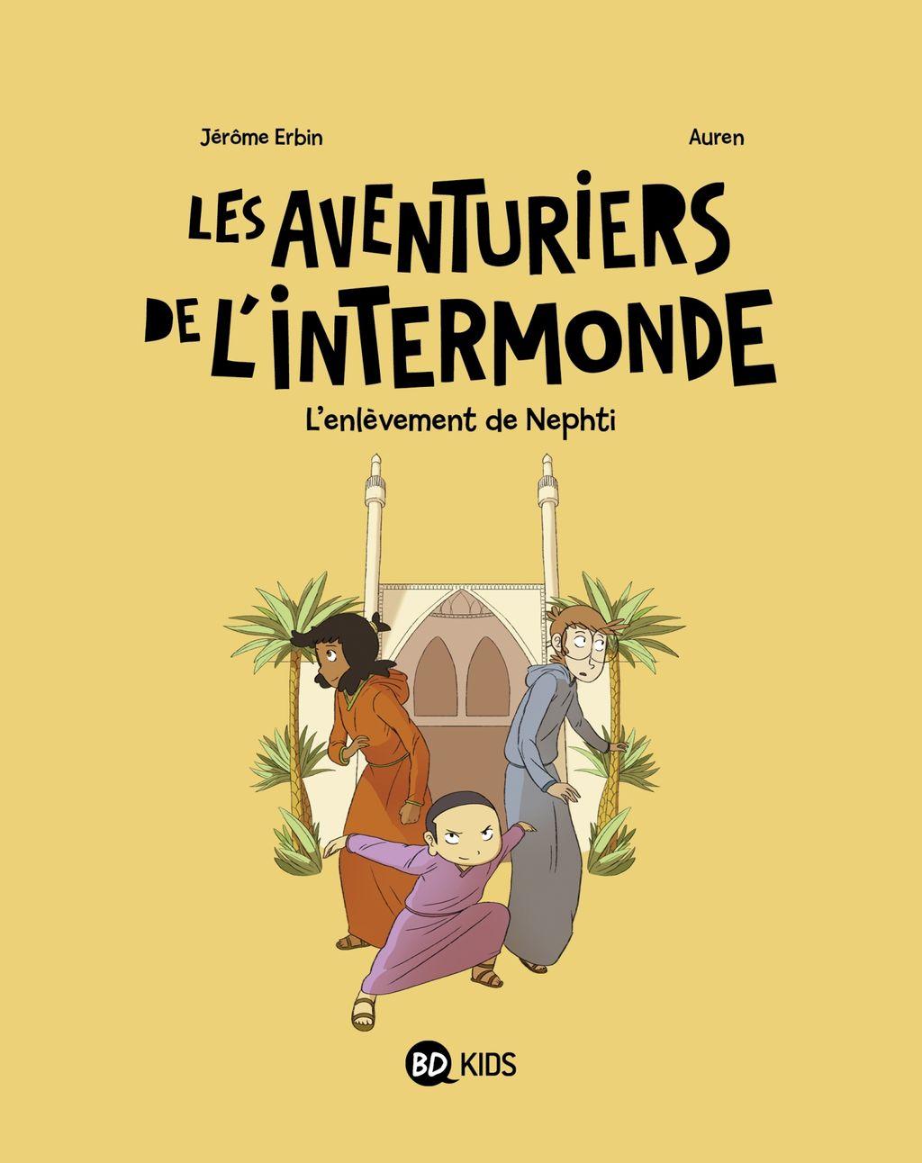 «L'enlèvement de Nephti» cover