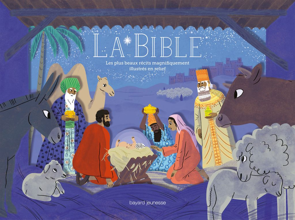 Couverture de «Bible (La) – Les plus beaux récits illustrés en relief»