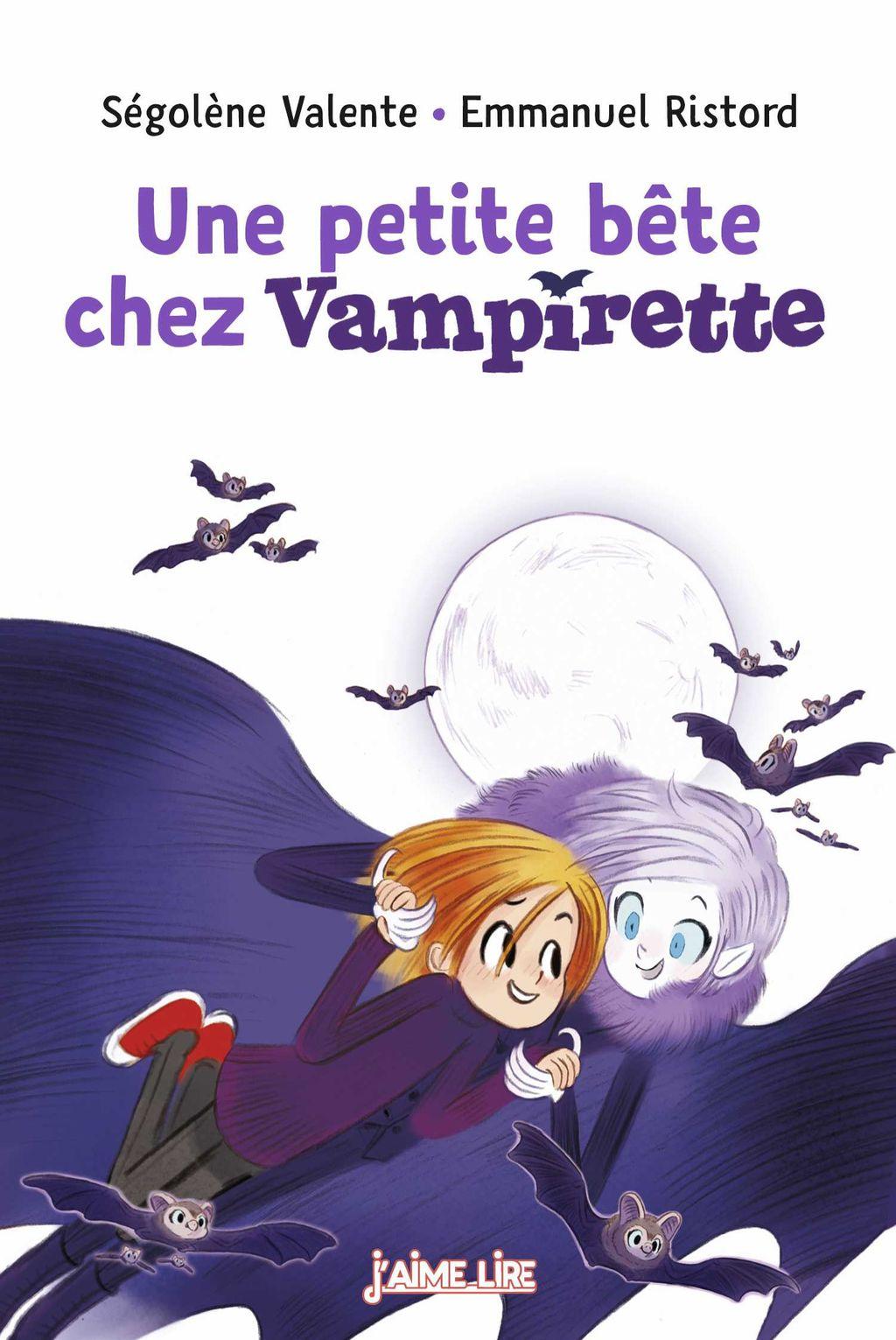 Couverture de «Une petite bête chez Vampirette»