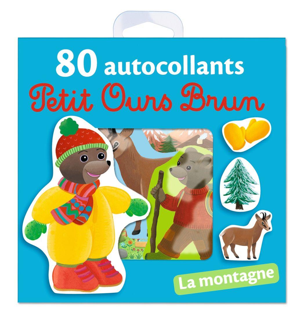 «La montagne – 80 autocollants Petit Ours Brun» cover