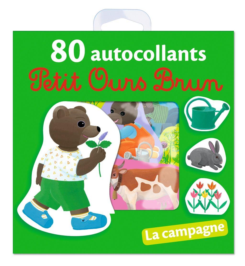 «La campagne – 80 autocollants Petit Ours Brun» cover