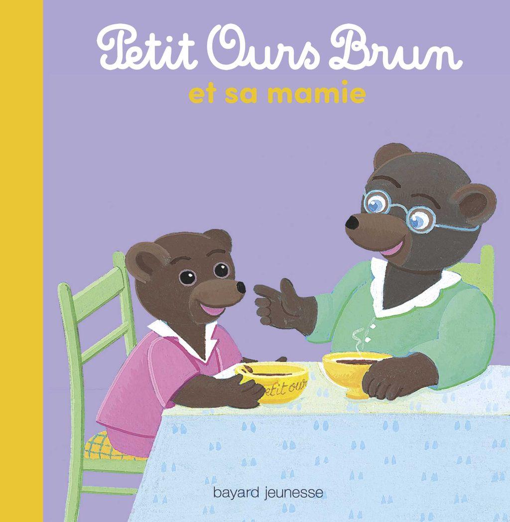 Couverture de «Petit Ours Brun et sa mamie»