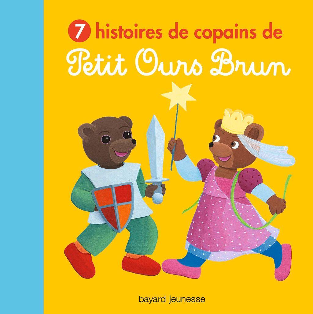 Couverture de «7 histoires de copains de Petit Ours Brun»