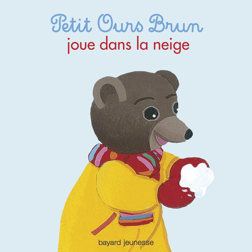 Couverture de «Petit Ours Brun joue dans la neige»