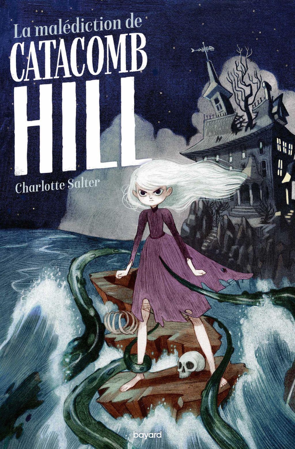 Couverture de «La malédiction de Catacomb Hill»