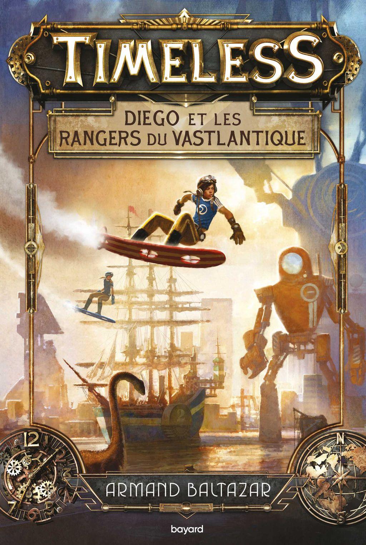 Couverture de «Diego et les rangers du Vastlantique»