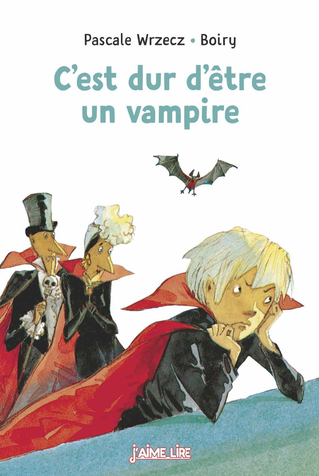 Couverture de «C'est dur d'être un vampire»