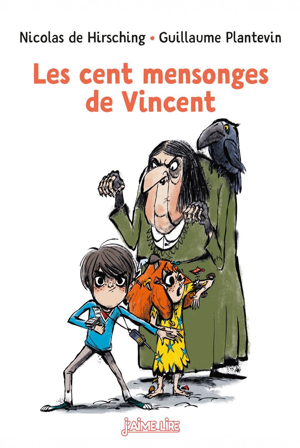 Couverture de «Les cent mensonges de Vincent»