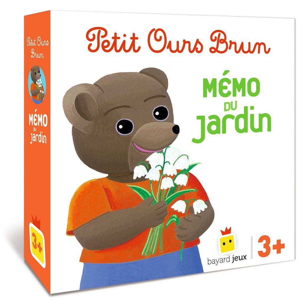 Couverture de «Jeu Petit Ours Brun – Mémo du jardin»