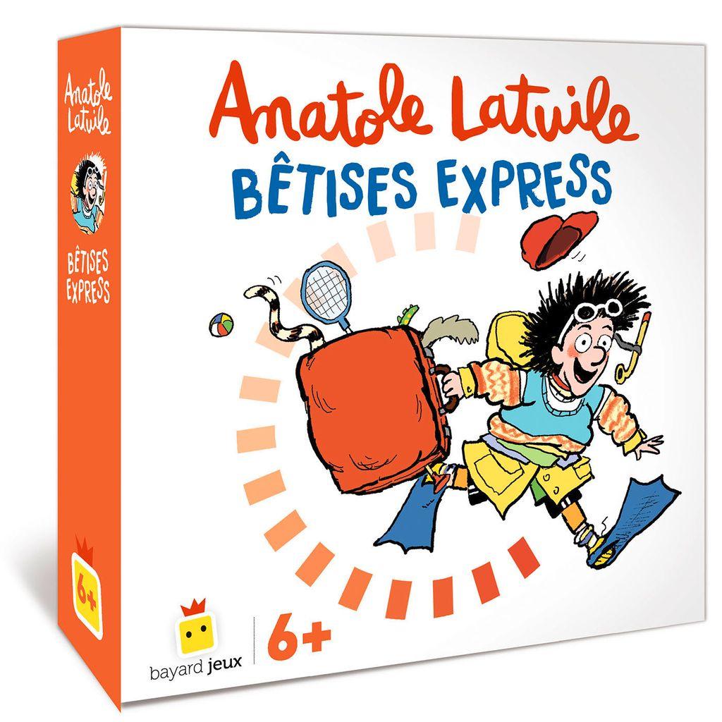 Couverture de «Anatole Latuile – Bêtises express»