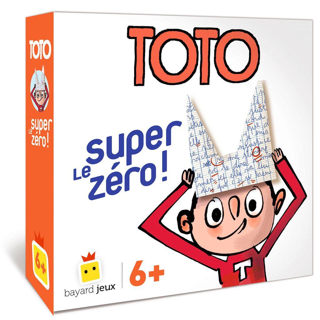 Couverture de «Jeu Toto – Le super zéro !»