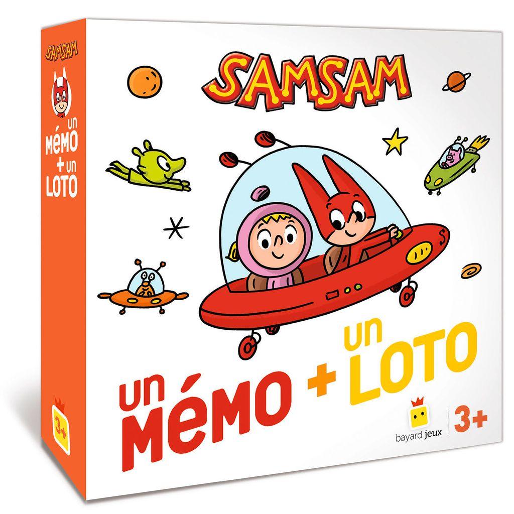 Couverture de «Jeu SamSam – Un mémo + un loto»