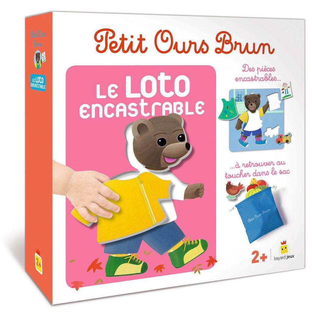 Couverture de «Jeu Petit Ours Brun – Loto encastrable»