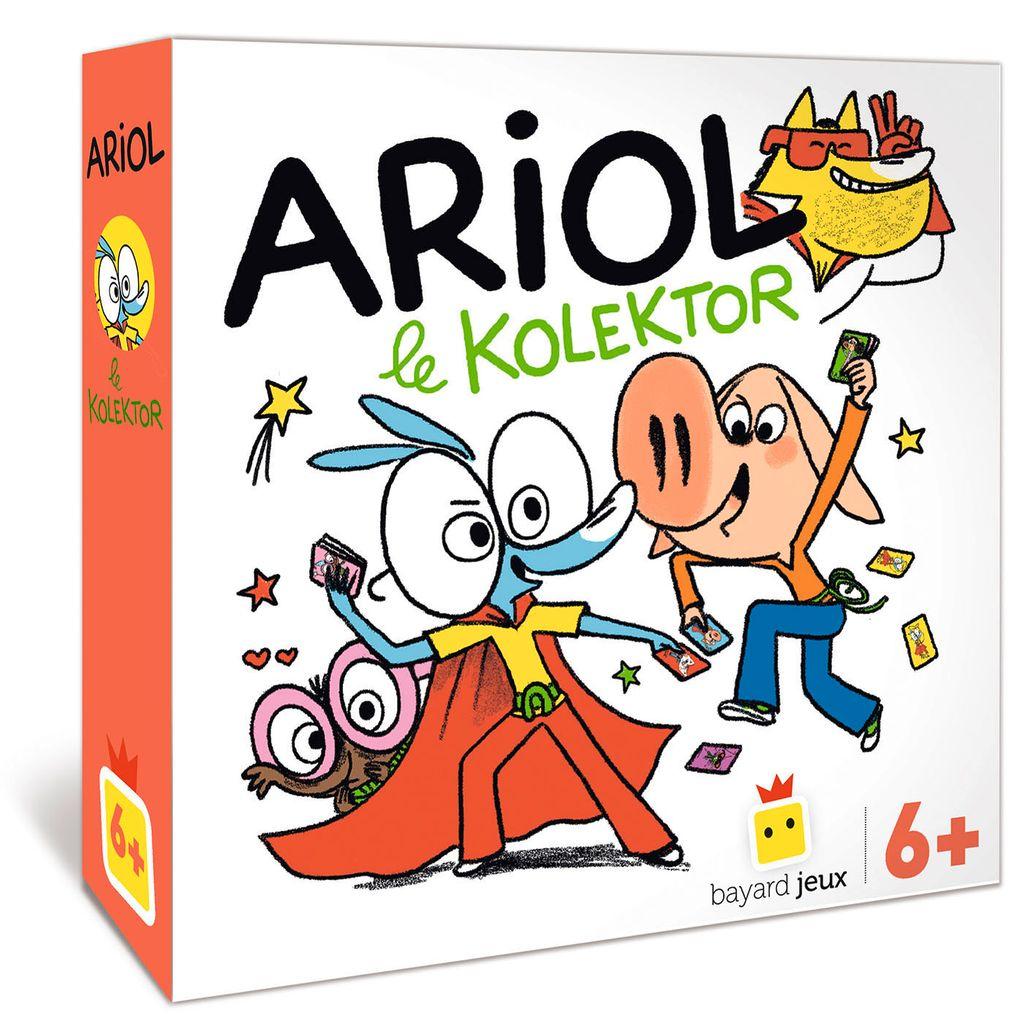 «Jeu Ariol – Le kolektor» cover