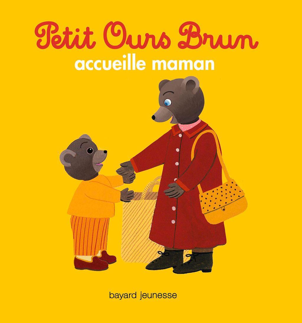 Couverture de «Petit Ours Brun accueille maman»