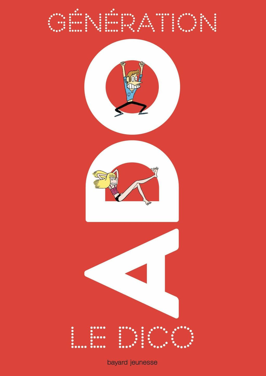 «Génération ado le dico 8e édition 2018» cover