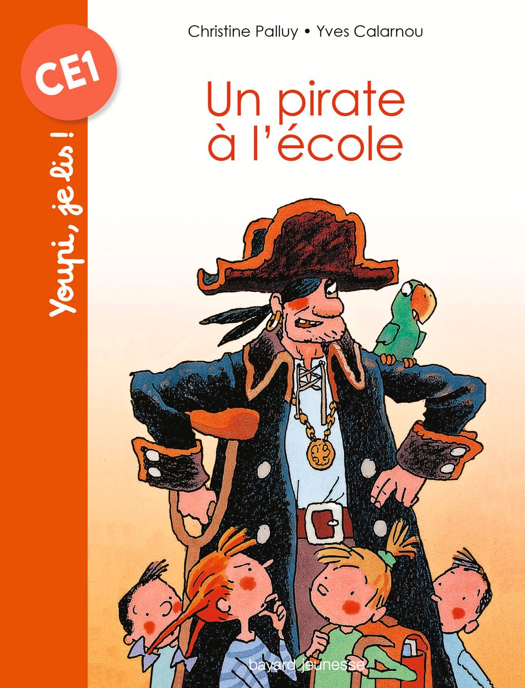 « Un pirate à l'école » cover