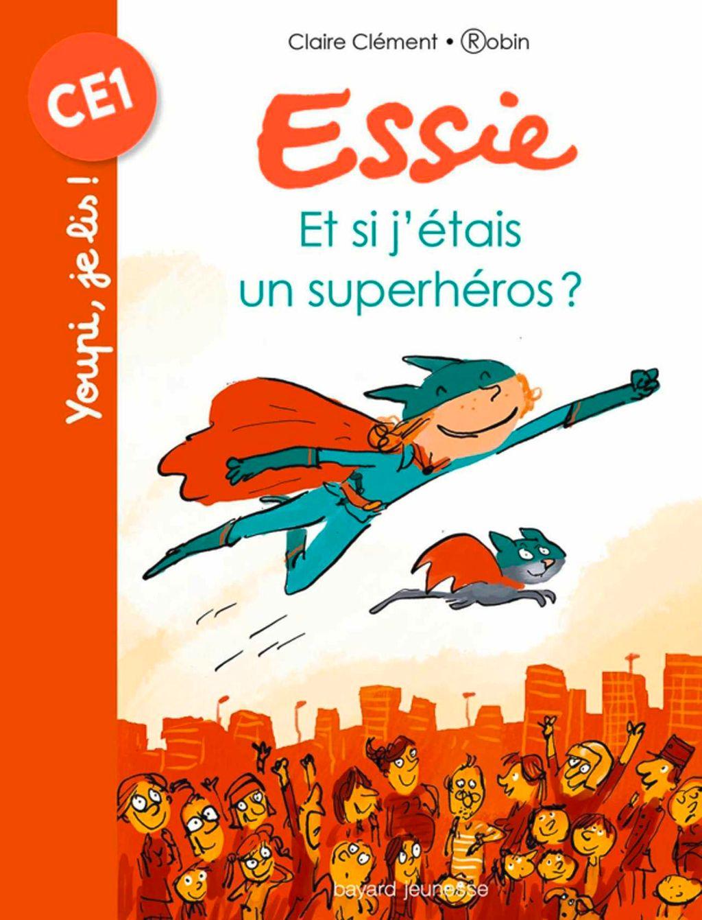«Et si j'étais un superhéros ?» cover