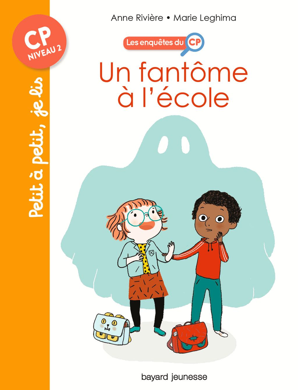 «Un fantôme à l'école» cover