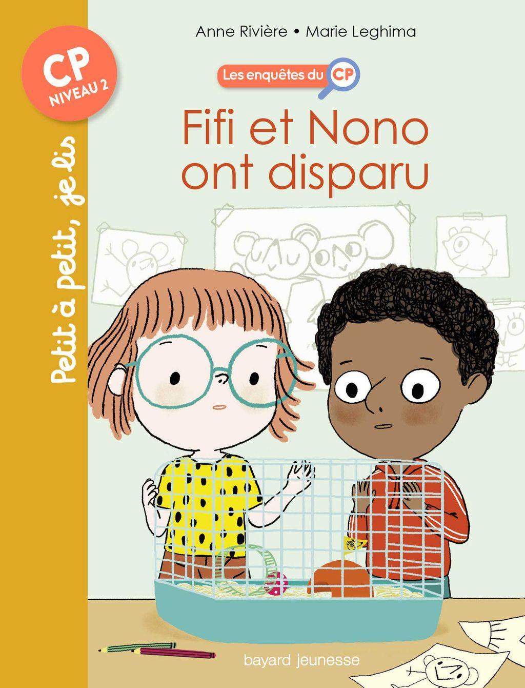 «Fifi et Nono ont disparu !» cover