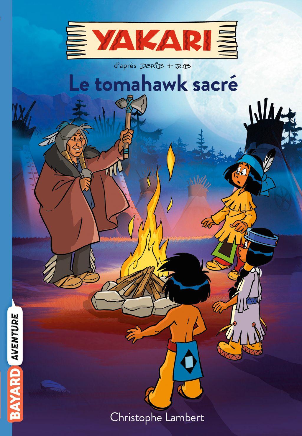 Couverture de «Le tomahawk sacré»