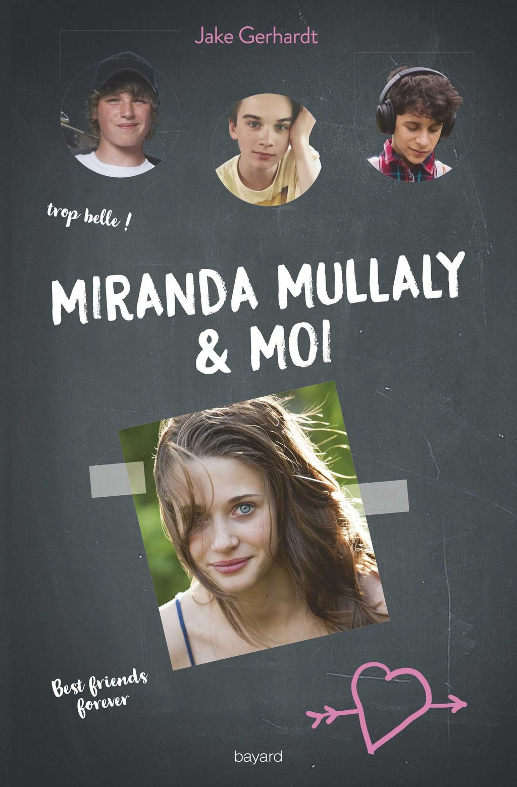 Couverture de «Miranda Mullaly et moi»