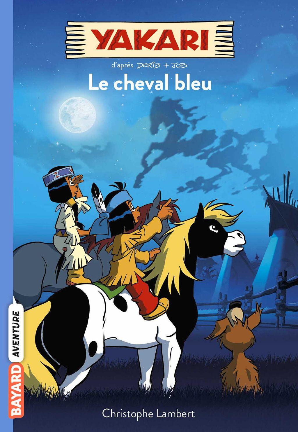 Couverture de «Le cheval bleu»