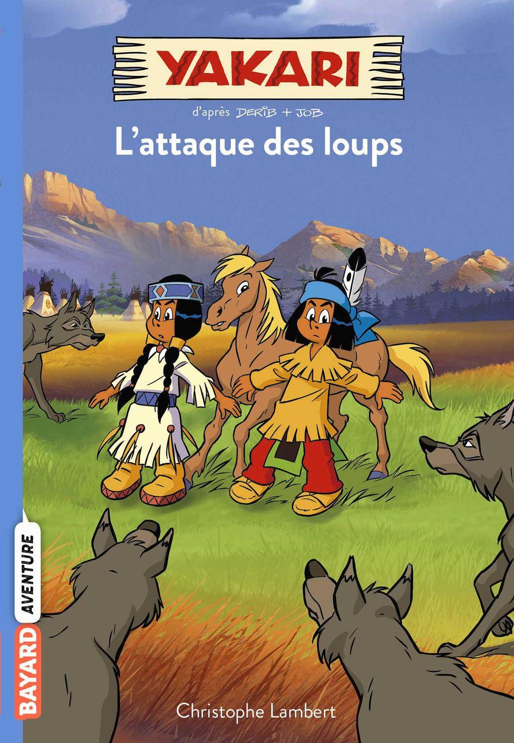 Couverture de «L'attaque des loups»