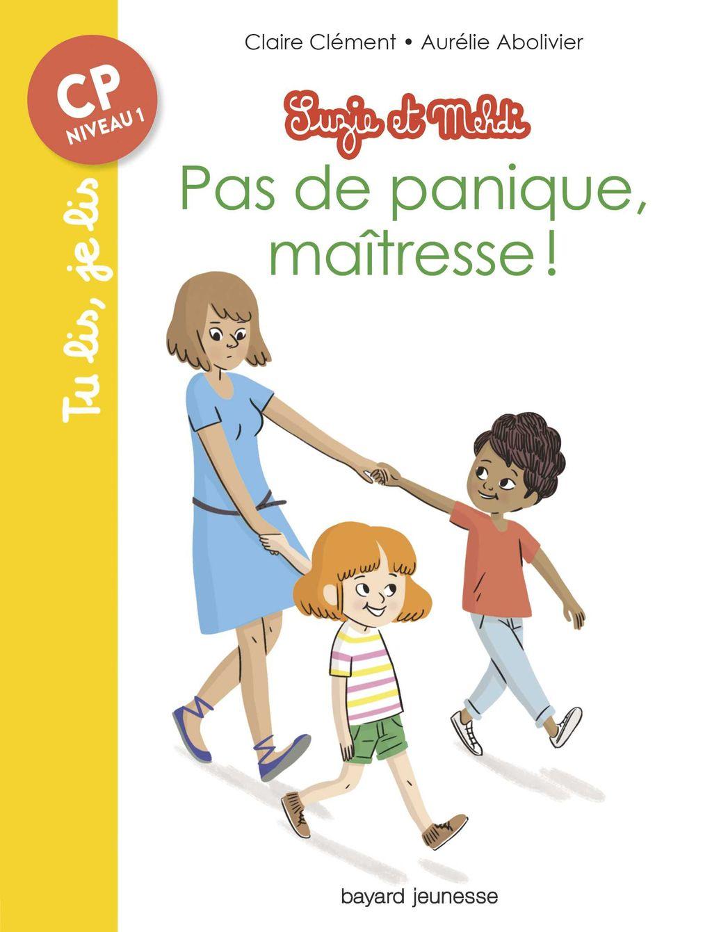 «Pas de panique maîtresse !» cover