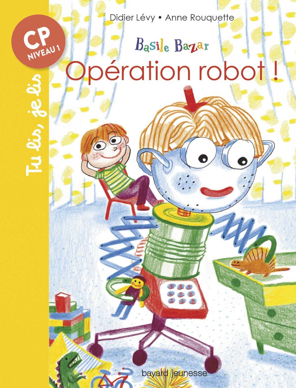 Couverture de «Opération robot !»