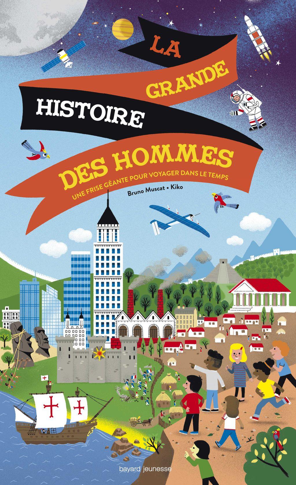«La grande histoire des hommes» cover