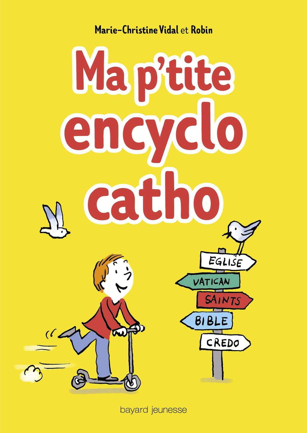 « Ma p'tite encyclo catho » cover