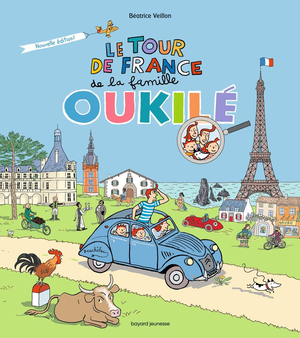 Couverture de «Le tour de France de la famille Oukilé»
